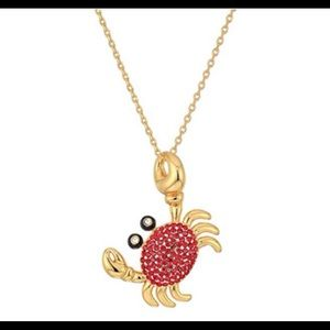 Kate Spade crab necklace